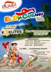 El Dia Cubano - Flinstoni